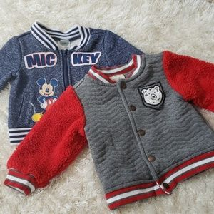 Two 12month baby boy jackets!